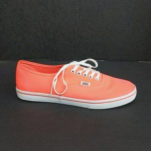 Vans Off The Wall Neon Pink Sneakers Shoes